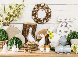 Wielkanocne dekoracje, które ozdobią Twój salon
